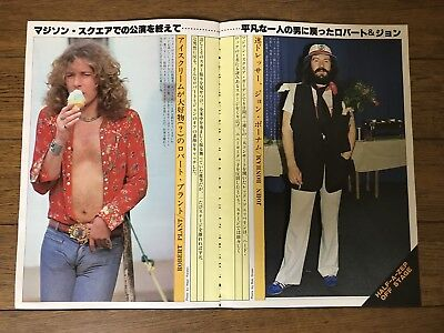 2 Queen Freddie Mercury Peter Frampton Robert Plant Japanese Clippings