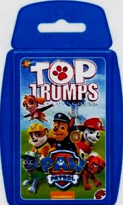 Top Trumps, 'paw Patrol' - Card Game. (Brand New, Sealed).
