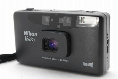 【Excellent+++】 Nikon AF600 Panorama 35mm Film Point & Shoot Camera from Japan