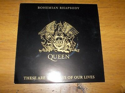 "Queen -'bohemian Rhapsody/these Are The Days...' - 7"" Vinyl Promo Single"