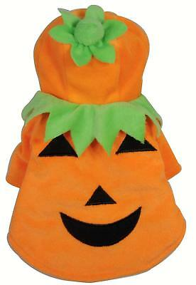Dog Halloween Pumpkin Pet Clothes Sweater For Small To Medium Dogs Puppies