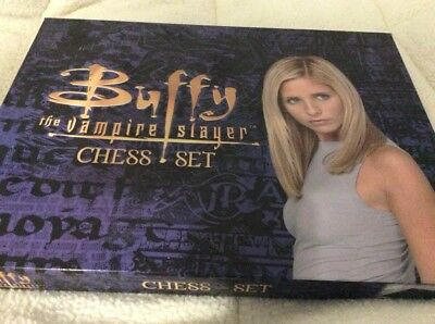 Buffy The Vampire Slayer - Chess Set. 100% Complete With Instructions