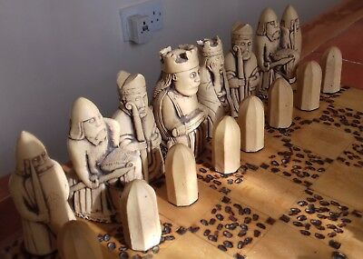 Large Themed Chess Set in resin