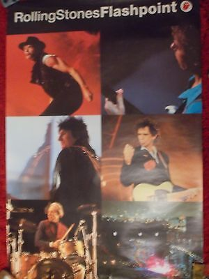 Rolling Stones Promo Poster Flash Point
