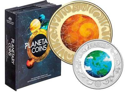 2017 10 -Coin Collection in Pop-Up Book - PLANETARY COINS