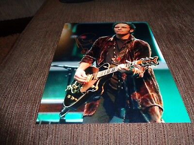 NILS LOFGREN signed photo [obtained in person]