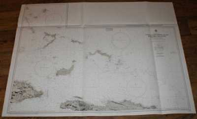 Nautical Chart No. 1266 West Indies, South-Eastern Portion of the Bahama Islands