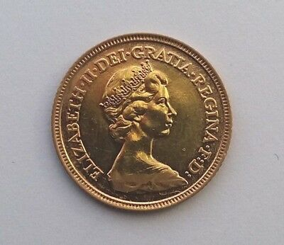 1982 Gold Half Sovereign