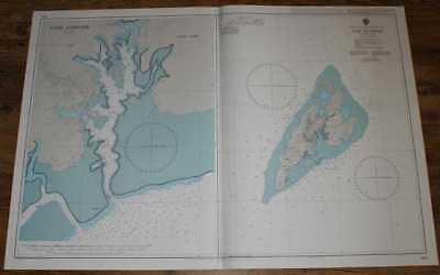 Nautical Chart No. 1485 North Pacific Ocean - Caroline Islands, Yap Islands