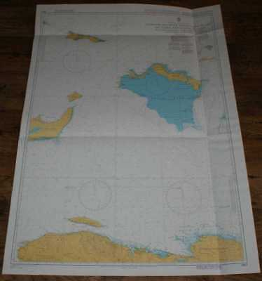 Nautical Chart No. 3907 Passages Between Mayaguana Island & Turks & Caicos Is