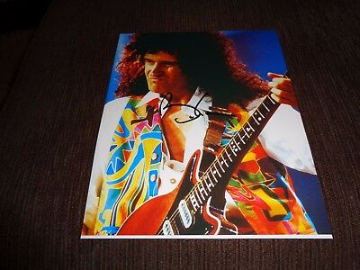 BRIAN MAY signed photo [obtained in person]