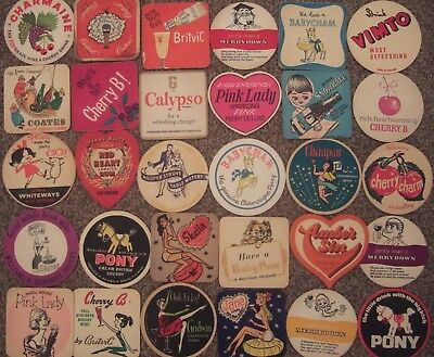 30 Different Beer Mats