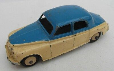 Vintage Dinky Toys 156 Blue/Cream 2 Two Tone Rover 75 Saloon Car 1950s Good!!!