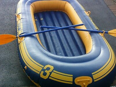 inflatable 3 man boat