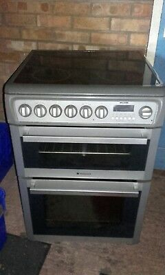 Hotpoint EW74 60 cm Electric Double Oven