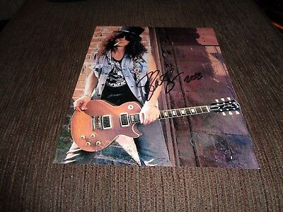 SLASH signed photo [obtained in person]