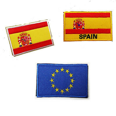 Bandera de España Iron in Sewing Clothing Flag Patch Backpack GUT