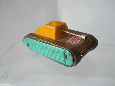 vintage   SMALL DIBRO   FRICTION TANK 1960s