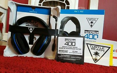 Turtle beach Ear force stealth 400 headset for PS4/PS3
