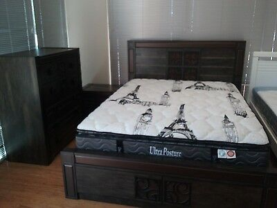Corsica Queen Bed Frame ( Price for Queen Bed Frame Only )