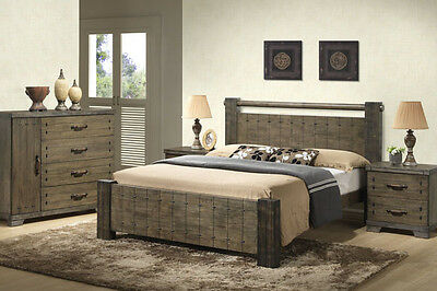 Sienna Queen Bed Frame ( Price for Queen bed frame only )