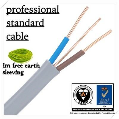 cooker and shower cable 10 mm twin and earth cable 6242y