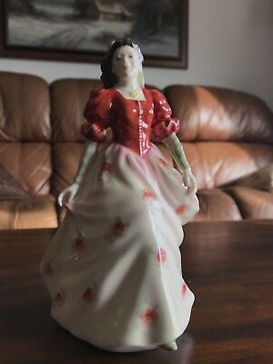 """Royal Doulton Figurine HN 3765 """"Kate"""" 8"""" inches in Height"""