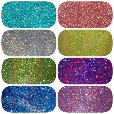 HOLOGRAPHIC GLITTER 100g **Perfect for Nail Art, Cosmetic, Wine Glass and Body**