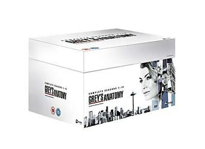 "Grey's Anatomy The Complete Season 1-14 Deluxe Dvd Box Set 82 Discs ""New&Sealed"""