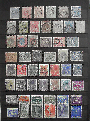 1872-1969 Nederland Lot x90 different stamps - Pays Bas