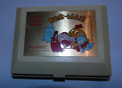 ancien jeu video pac-man orlitronic (pas game watch) 1983 TIGER double écran