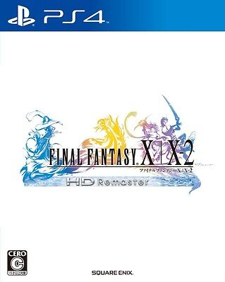 PS4 Final Fantasy X / X-2 HD Remaster Japan Import PlayStation 4 With Tracking