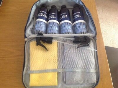 Bn In Original Carry Case Williams Car Valeting / Cleaning Kit