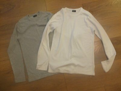 Two Next Long Sleeve Thermal Tops age 11-12 Years