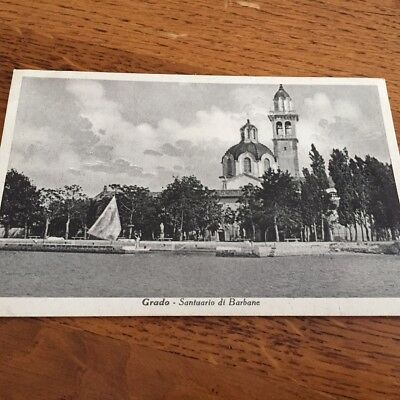 Old Postcard Of Grado  Santuario Di Barbane   Italy