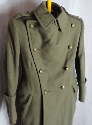 WW1 DCLI Duke of Cornwall Light Infantry Officers Overcoat / Greatcoat / Tunic