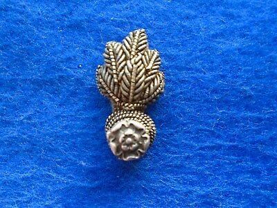 1902 Royal Fusiliers City Of London Officers Bullion Mess Dress Collar Badge
