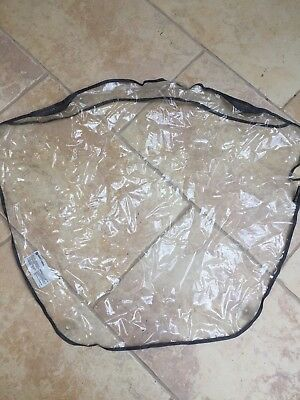 Maclaren stroller buggy raincover - used