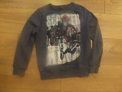 Next Boys Sweatshirt Age 10 Years