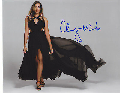 Cheyenne Woods Signed Autographed Lpga Golf Sexy Hot 8X10 Photo  Proof #3