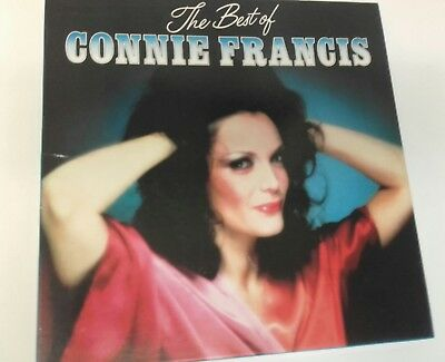 Connie Francis 4 Lp Box Set The Best Of 1981 Readers Digest Polydor Vinyl Ex/ Nm