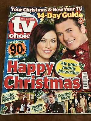 TV Times Christmas / New Year Mag 21dec / 3 Jan 2014