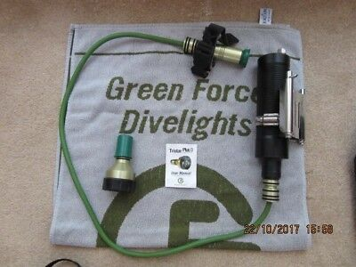Green Force Tristar Plus D Torch