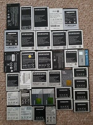 35 x Mobile phone batterries bulk buy joblot