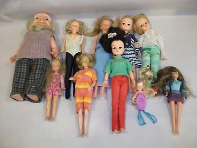 Vintage Collection Of Dolls ~ Sindy ~ Tressy ~ Cassy ~ TLC 3 Day Listing