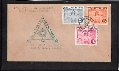 PHILIPPINES Japan occupation  cover (ref114)