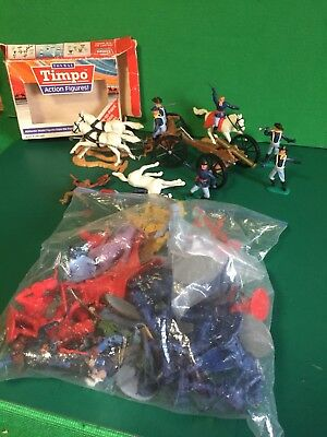 Timpo Swoppet + Solid Figures + Part Gun Limber And Cannon Some Spare Bits Vgc