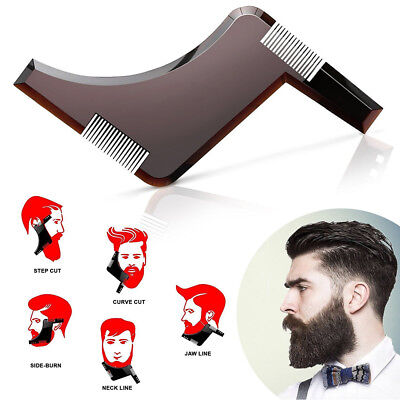 Regola barba modella barba pettine basette beard shaper shaping