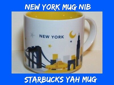 STARBUCKS NEW YORK CITY You Are Here  mug YAH