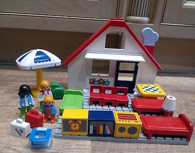 Playmobil 123 House Holiday House Furniture Accessories
